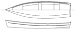 15 ft 6 inch Skiff boat plans