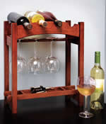 4 bottle wine rack plans