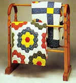 antique quilt rack plans