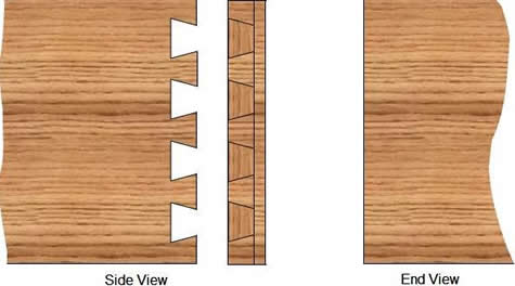 half blind dovetail joint