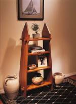 four shelf peg bookcase plans