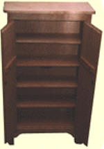 Mission style CD & DVD storage cabinet plans
