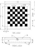 chessboard wood box plans