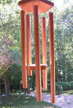 Copper wind chime plans