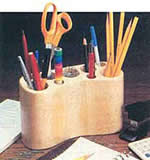 desktop pencil holder plans