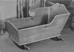 Early American Baby Cradle