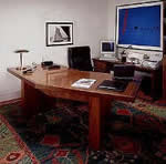 Executive office desk plans