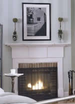 Greek fireplace mantel plans