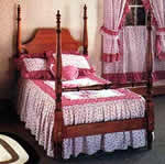 English four poster bed plans