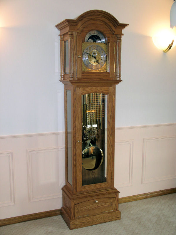 4 Grandfather Clock Woodworking Plans