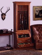 display rifle cabinet plans