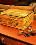cigar humidor plans - Spalted Maple