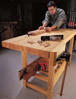 inexpensive, sturdy workbench plans