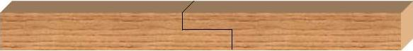lap joint - length wise