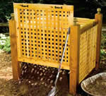lattice compost bin plans