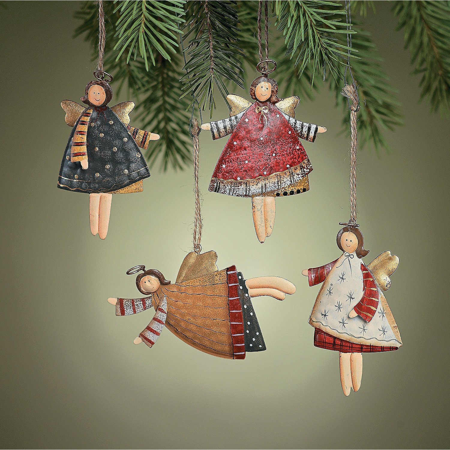 manufactured Christmas ornaments