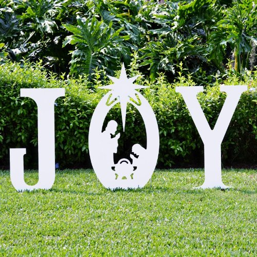 manufactured Christmas yard art