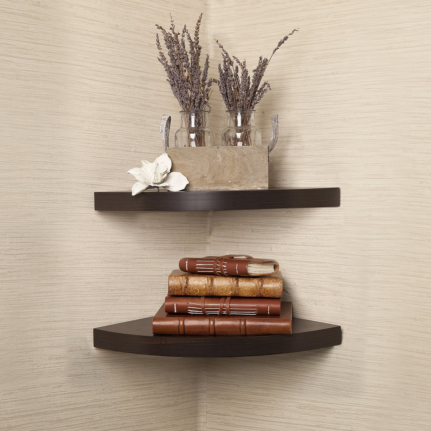 manufactured corner shelf
