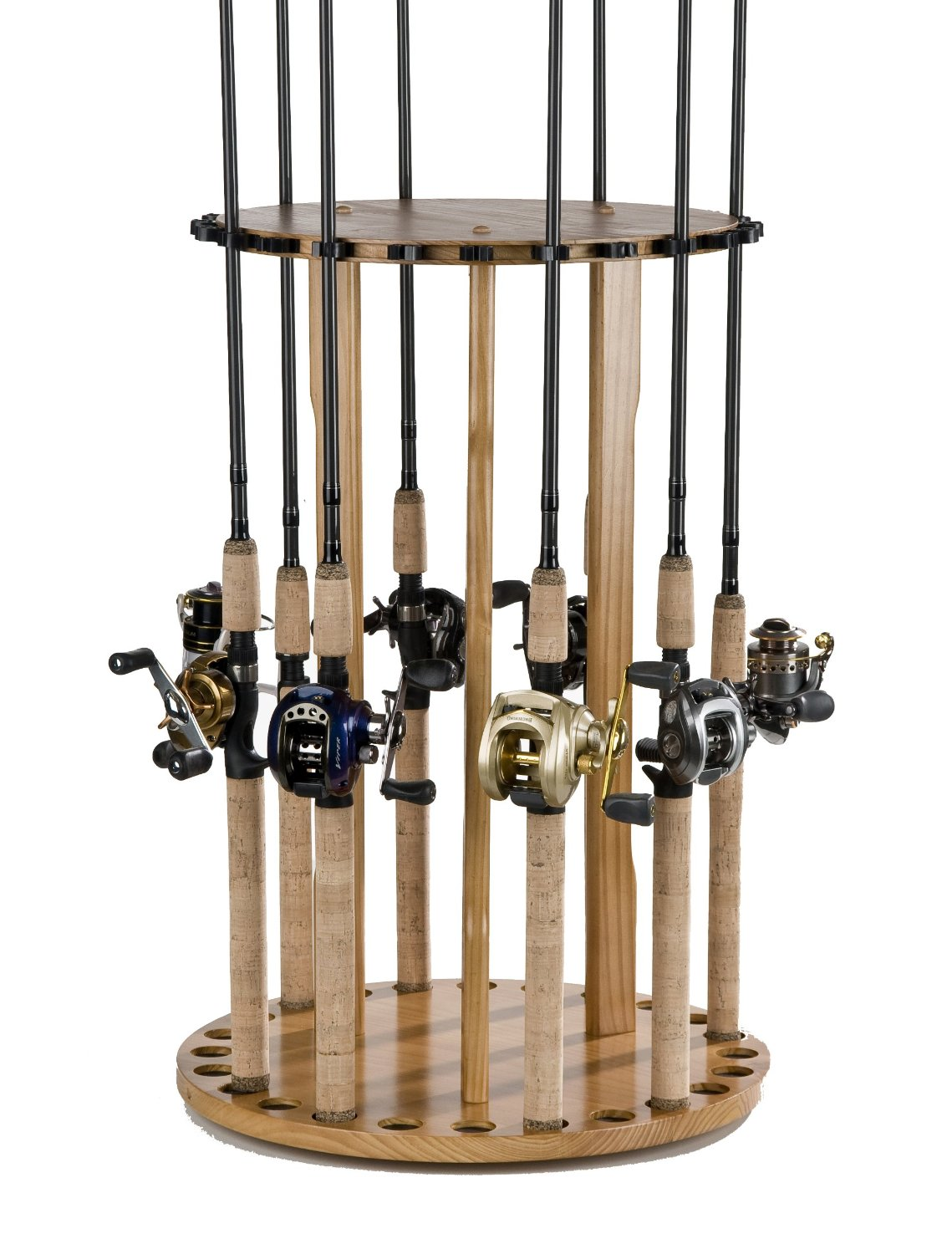 How to make fishing rod racks 2 fishing rod rack for Diy fishing pole rack