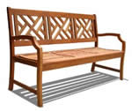 manufactured garden bench
