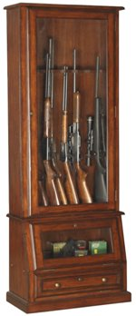 manufactured gun cabinet