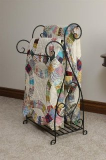 manufactured quilt rack