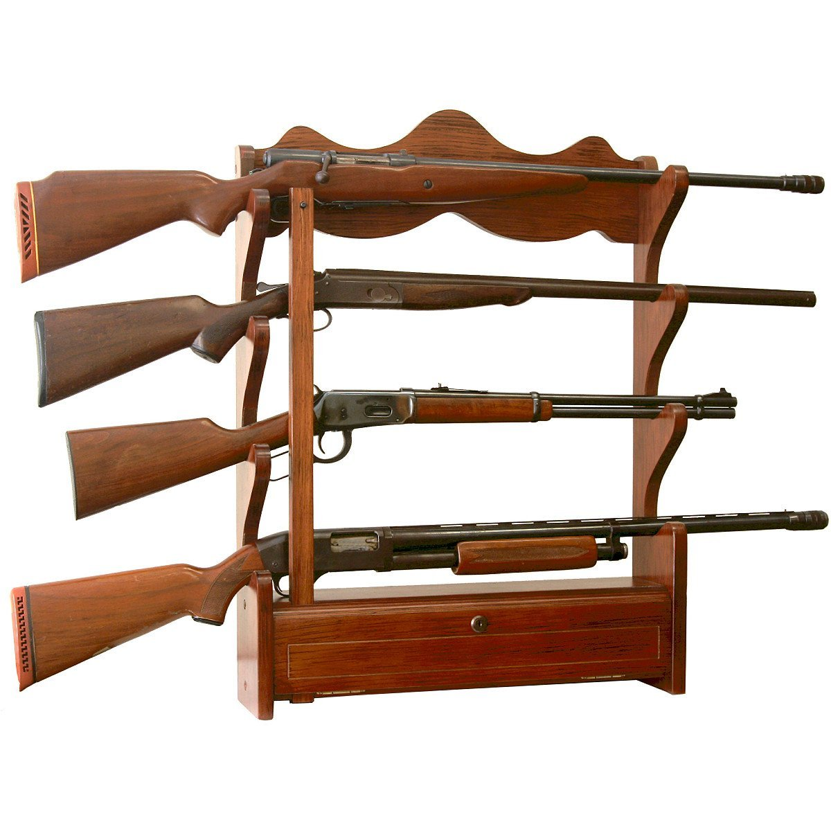 manufactured rifle rack
