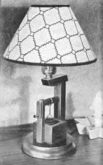 well lamp plans