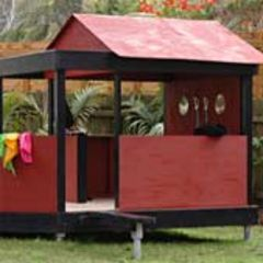 open air play house plans