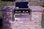 brick barbecue plans with gas barbecue insert