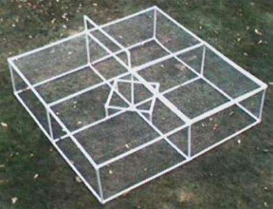 pvc pipe chicken coup plans