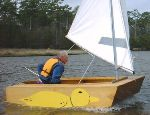 Puddle Duck racing sailboat plans
