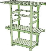 redwood potting bench plans