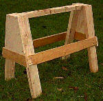 strong sawhorse plans