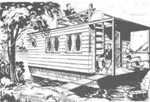 Shanty houseboat plans