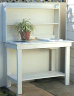 rugged potting bench plans