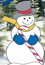 Christmas yard art plans - snowman