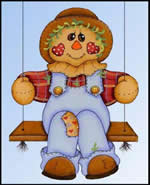 woodcraft patterns - swinging scarecrow