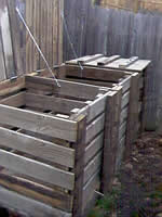 three bin - compost bin plans