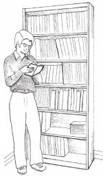 six shelf bookcase plans
