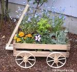 wagon planter plans