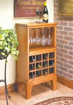 wine rack plans - includes server