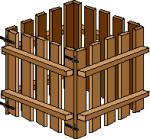 Wooden pallet compost bin plans
