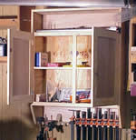 workshop wall tool cabinet plans